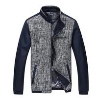 Patchwork Design Men Casual Silm Coats Big Size M-3XL New Arrival Korean Style Good Quality Urban Men Fashion Jackets