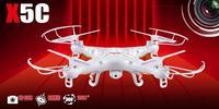 New Original Syma X5C 4CH 2.4G RC Remote Control Quadcopter  /X5C Explorers with 2.0 Pixels HD Camera free shipping