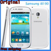 "Original Samsung Galaxy S3 mini i8190 GPS Wi-Fi 5.0MP 4.0""Touch Screen 8GB Unlocked Refurbished Phone"