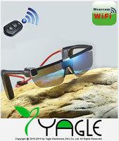Wifi 16MP HD 1080P Remote Control Video Sunglasses DV Camera Sports Glasses DVR