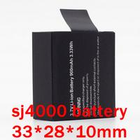 SJ4000  Backup Rechargable Battery For SJ4000 Camera (thin battery size 33*28*10mm)