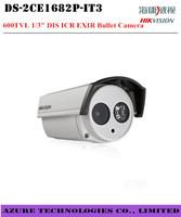 "Free shipping High quality Hikvision  DS-2CE1682P-IT3 600TVL 600TVL 1/3"" DIS ICR EXIR Bullet Camera security CCTV analog Camera"