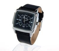 Upscale boutique brand watches square design, excellent and generous Quartz Men's Watches, Men's Military WatchesA28730