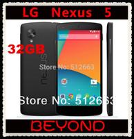 LG Nexus 5 32GB Original Unlocked GSM 3G&4G Android WIFI GPS 4.95'' 8MP Quad-core RAM 2GB D820 / D821 Mobile phone Dropshipping