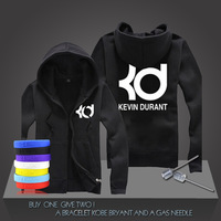 New Kevin Durant #35 Basketball Super Star Hoodies Oklahoma City Sweatshirt Men Zipper Hooded Cardigan Training Long-sleeved Top