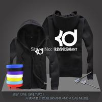 New Kevin Durant #35 Basketball Super Star Hoodies Oklahoma City Sweatshirt Men Zipper Hooded Cardigan Training Long-sleeved Top