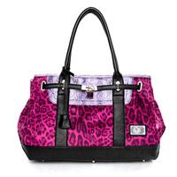 2014 fashion new brand leopard women handbags female shoulder bags big size high quality