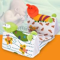 2 Discount Side Cotton Baby Shaping Printed Pillow Small Animal Models Newborn Bedding Set Fashion Kids Animals 1 pcs B19