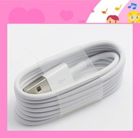 50pcs High quality 8 pin Data Sync Adapter Charger USB cable cord wire for iPhone 5 5s 5c 6 iPod Touch perfect fit for ios 8
