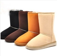 Fashion Winter Women snow boot for Ladies' boot & black,beige,pink,brown,light brown,gray size 35-40 B200