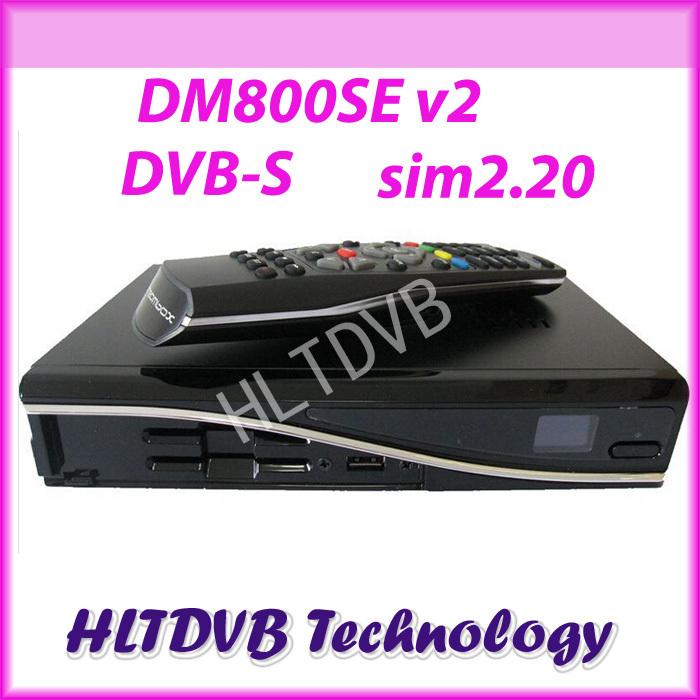 dm800se dm 800se V2 Digital satellite tv receiver dm800hd se v2 sim2.20 Enigma 2 Linux OS 1GB Flash 512MB RAM at Stock(China (Mainland))