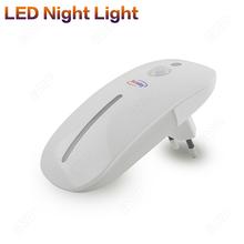 2014 Human Body PIR Motion Sensor Light 9LEDs 220-240V EU Night Light With Light Sensor For Emergency Freeshipping(BS126 1pc)(China (Mainland))