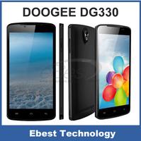 100% orginal Doogee MINT DG330 MTK6582 Quad core 1.3Ghz 5.0 inch IPS 1GB RAM 4GB ROM WCDMA 5.0MP Camera Smart Phone 3G