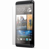 Free Shipping Grade A quality 2.5D LCD Tempered glass screen protector for HTC M7