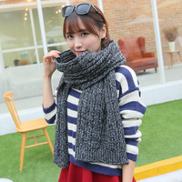 South Korean original single family custom 500G thick oversized scarf winter new twist twist double thick scarf