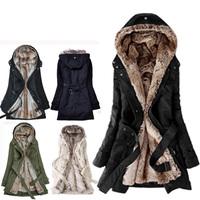 winter coat women winter jacket women casacos femininos inverno parka lining fur Hoodies winter warm long coat down & parkas 666