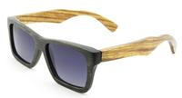 Free shipping cheap sunglasses no brand bamboo wayfarer wholesale best selling bamboo wood aviator wayfare Z6003