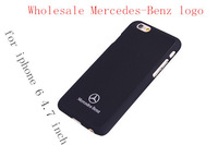 "Hot SALE black benz car Logo For iPhone 6 / iPhone 6 Plus - Full Wrap Case CartooniPhone 6 4.7"" CaseCoverage Case soft sides"