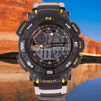 New Men Sports Military Watch Fashion Casual Dress Wristwatches Dual time Digital Analog  LED Quartz  Watches Relogio Masculino