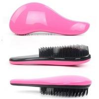 Free Shipping Hair Brush Combs Magic Detangling Handle Tangle Shower Salon Styling Tamer Tool Comb Blue Green Pink