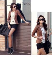 2014 New Women OL Solid Single Button Slim Fit Blazers Small Suit Jacket Coat Outerwear, 5 Color, M, L, XL, XXL