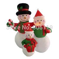 Christmas decoration inflatable snowman 3pcs set