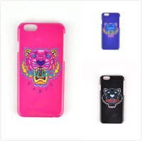 "New 2014 Hot Sale Fashion Brand Kenzoe Paris Tiger Phone Cases For Apple iPhone 6 4.7"" i6 PC Cover Capa Celular Free Shipping"