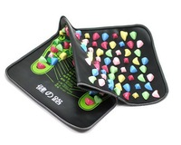 Super effect Foot Massage Pad 35x70cm Colorful Plastic medial branch foot massager cushion cobblestone mat Free shipping #227