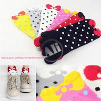 NEW Antibacterial Women Breathable Short Tube Cotton Five Toe Socks Leisure socks 5Pair Free Shipping