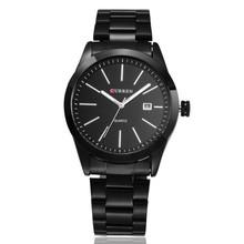 Top Sale CURREN Men Watches Top Brand Luxury Men Military Wrist Watches Full Steel Men Sports