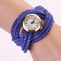 women vintage cow leather strap watches,set auger bracelet women dress watches,women luxury wristwatches XR122