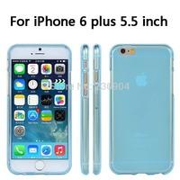 Soft Transparent TPU Phone Case Cover For iPhone 6 plus 5.5