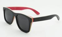 oculos de sol feminino china wholesaler wooden bamboo sunglasses 100% purely hand made with logo wood polarized sunglasses 68003
