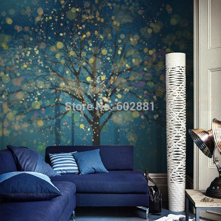 forest fantasy wallpaper wall decal art bedroom children animal tree