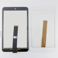 Original For Asus MeMO Pad 8 ME181C ME181 076C3-0807B Black And White Touch Panel Screen Digitizer Replacement Free Shipping