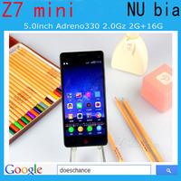Original ZTE Nubia Z7 Mini 4G LTE Qualcomm Quad Core WCDMA 1920x1080 2GB RAM 16GB ROM Original Nubia Z7  Dual SIM Cell Phone