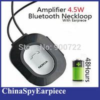 4.5 Watt Powerful Amplifier Bluetooth Inductive Neck Loop Spy Micro Earpiece For Covert Communication