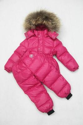 Детский зимний комбинезон с натуральным мехом 2012