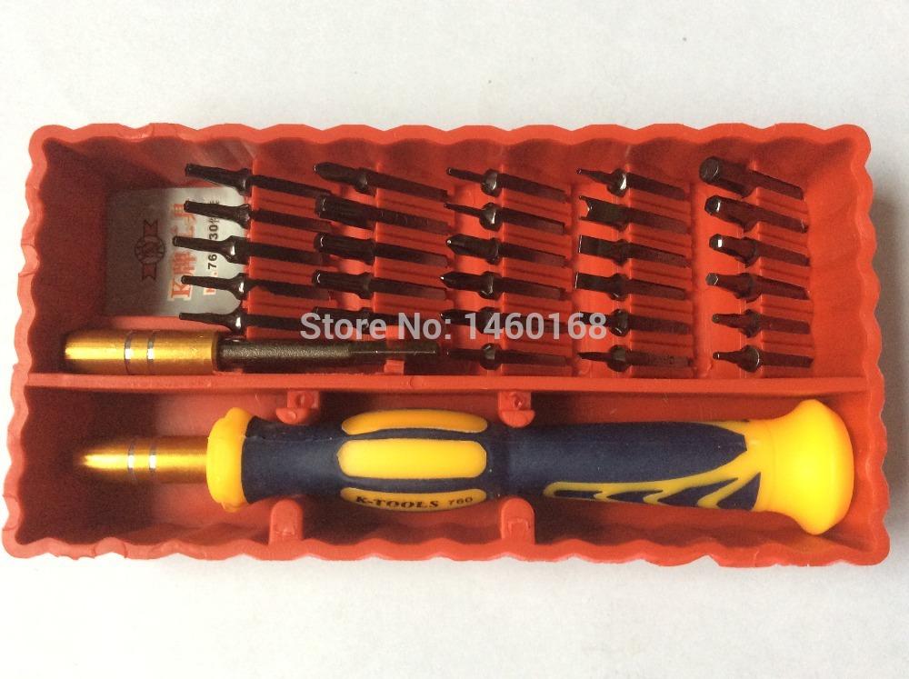 buy free shipping 30 pcs precision screwdriver set s2 heads mobile telephone. Black Bedroom Furniture Sets. Home Design Ideas