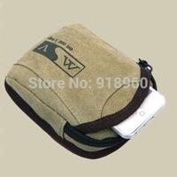 Canvas waist bag for men waist pouch,casual fanny pack men's travel bags
