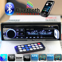 Nuovo 12v car stereo bluetooth radio fm mp3 lettore audio 5v caricabatterie USB/SD/AUX/APE/FLAC macchina elettronica subwoofer in- cruscotto 1 din(China (Mainland))