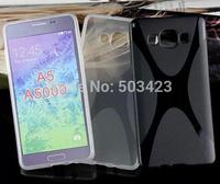 For Samsung Galaxy A5 Cases,Anti-Skid X Line Soft TPU Gel Skin Cover Case For Samsung Galaxy A5 A500