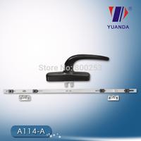 Casement Window Lock Handle(without groove,Zinc bansement and Aluminium handle)