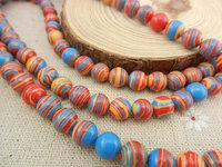 Natural Stone Beads 6mm 8mm 10mm Mix Color Strands Zebra Stripe Malachite Loose Bead for Men Bracelet Jewelry DIY Making HA795A
