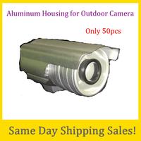 Outdoor Aluminum CCTV bullet Cameras Housing Camera Shield Double Glasses Promotion