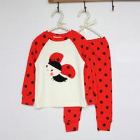 Kids Boys 2PCS Polka Dots Tracksuits Tops+Pants Set Bee Pattern Costume 0-3Y