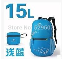 Folding hiking outdoor backpack ultralight double-shoulder light travel hiking waterproof 15l 20l