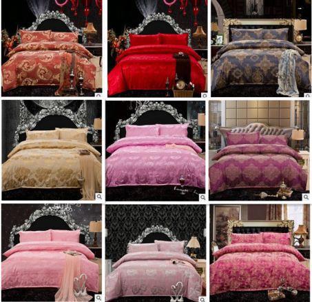 Luxo 4 pcs roupa de cama roupa de cama define Quilt / duvet cover set casamento jogo de cama grátis frete(China (Mainland))