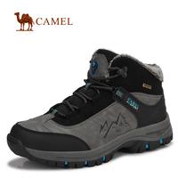 2015 clearance sale on sale  winter men Camel outdoor shoes high-top hiking shoes men slip resistant couple plus cotton warm
