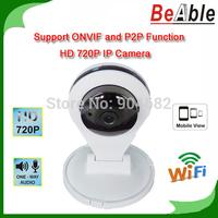 White Color 1280*720P Video Monitoring Network Wi-Fi P2P Camera Two Way audio Mobile Surveillance Plug IP Camera Wireless